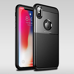Накладка противоударная силикон Carbon NEW (Window) для iPhone 6/6s