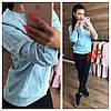 Женский свитер с ажурной вязкой в расцветках. АР-12-1018, фото 3