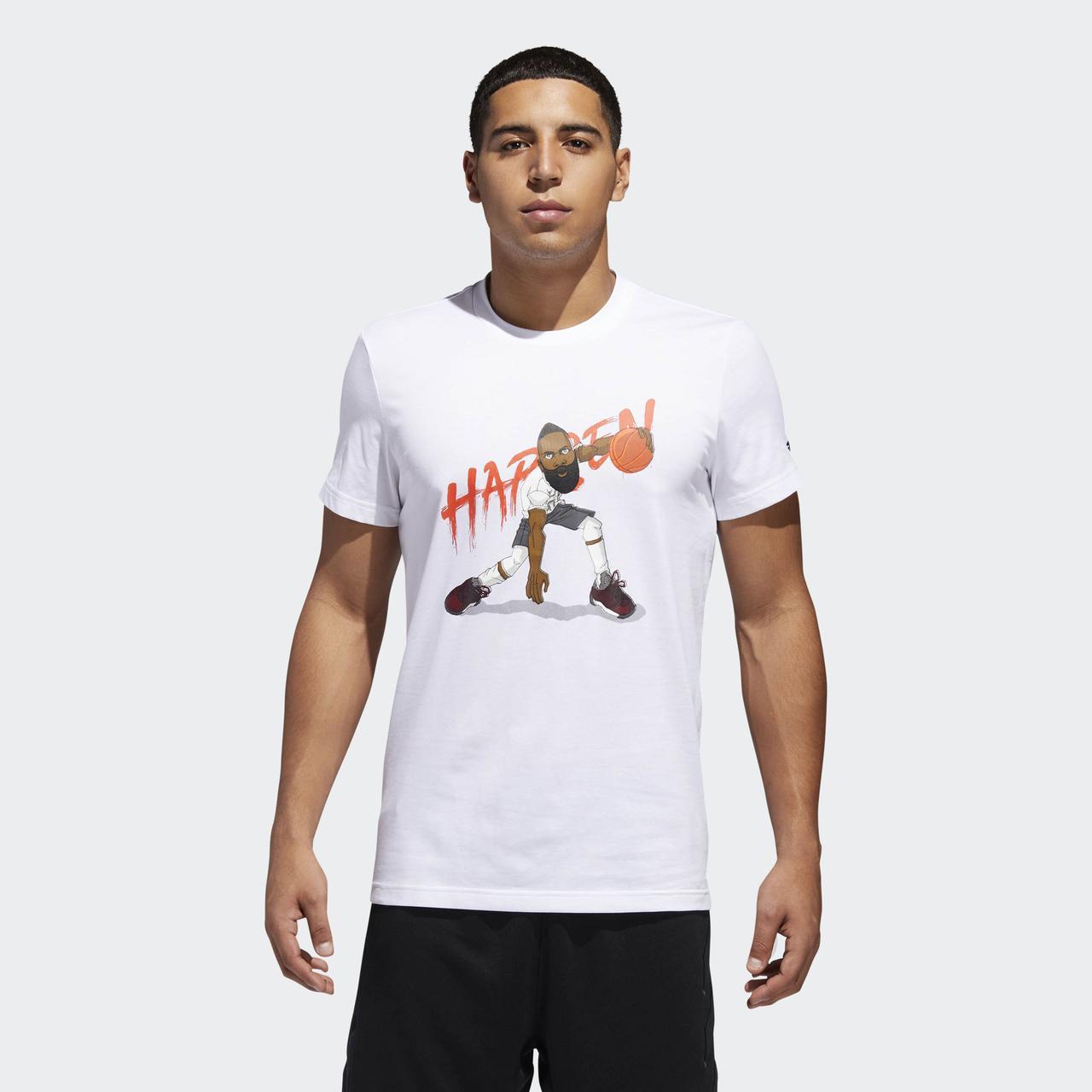 Мужская футболка Adidas Performance Harden Geek UP (Артикул: CW9224)