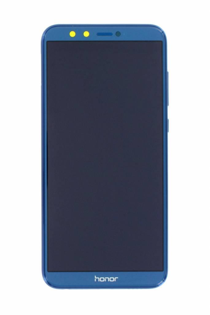 Дисплей для Huawei Honor 9 Lite Dual Sim (LLD-L31) + touchscreen, синий