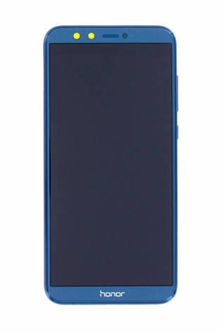 Дисплей для Huawei Honor 9 Lite Dual Sim (LLD-L31) + touchscreen, синий, фото 2