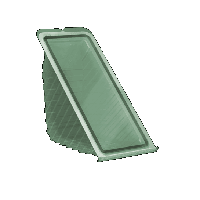 Контейнер з кришкою УК-20, PET, прозрачный , 440 мл, 180 шт/уп