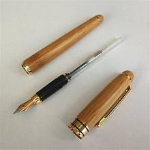 Ручка перьевая деревянная подарочная