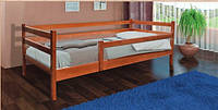 Ліжко деревяне Соня (темний горіх) 80*190
