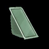 Контейнер з кришкою УК-20А, PET, прозрачный , 410 мл, 830 шт/уп, фото 3