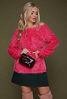 Жіноча кофта травичка рожевого кольору