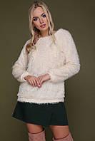 М'який молочний светр Травичка, фото 1