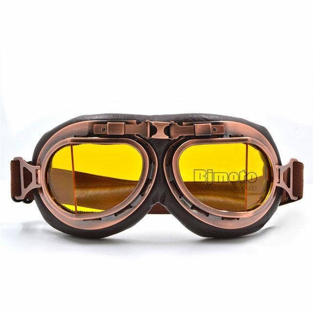 Ретро мото очки для байкеров