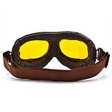 Ретро мото очки для байкеров, фото 5