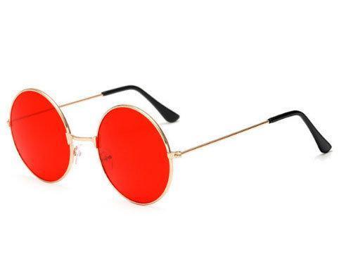 Круглые очки с красными линзами Avatar 2019