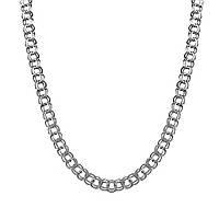 Серебряная цепочка ГАРИБАЛЬДИ, БИСМАРК (42-55 грамм), фото 1