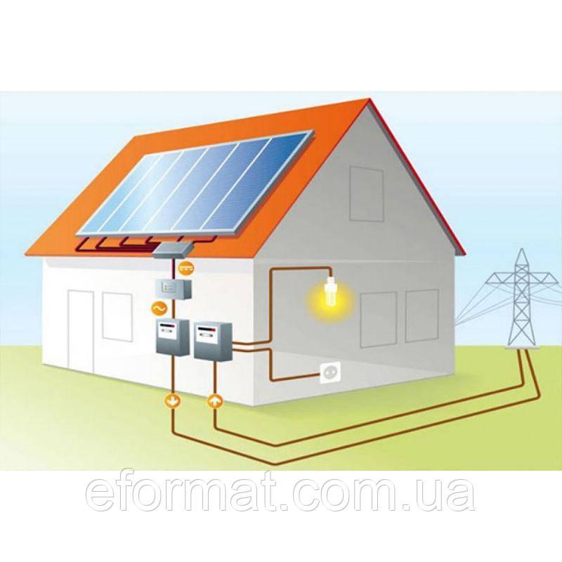 Солнечная электростанция под Зеленый тариф 5 кВт