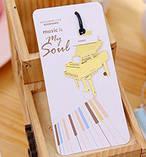 Музыкальная закладка для книги Рояль золотистый, фото 2
