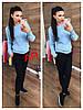 Женский свитер крупной ажурной вязки в расцветках. АР-17-1018, фото 8