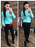 Женский свитер крупной ажурной вязки в расцветках. АР-17-1018, фото 6