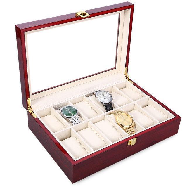 Скринька під годинник дерев'яна на 12 клітинок Rothenschild