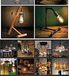 Декоративная лампочка Эдисона, фото 6