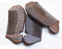 Гребень для волос из сандала натурального Рыбка, фото 1