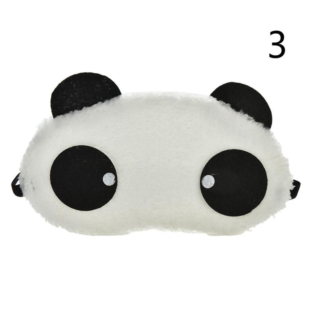 Маска для глаз Панда мягкая