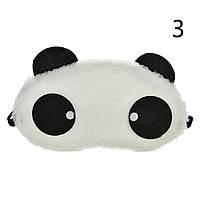 Маска для глаз Панда мягкая, фото 1