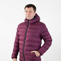 Мужская зимняя куртка с капюшоном