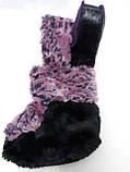 Пинетки детские Фиолетовые, фото 4