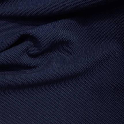 Трикотаж кукуруза темно-синий, фото 2