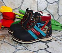 Демисезонные ботинки для мальчиков.