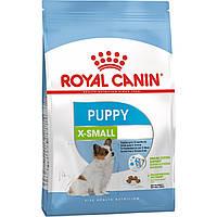 Роял Канин Икс Смол Паппи Юниор Royal Canin Xsmall Puppy сухой корм для собак мелких пород 1,5 кг