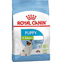 Роял Канин Икс Смол Паппи Юниор Royal Canin Xsmall Puppy сухой корм для собак мелких пород 3 кг
