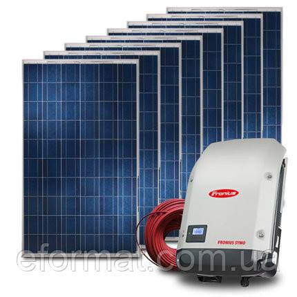 Комплект солнечной электростанции Fronius + Ja Solar 10 кВт