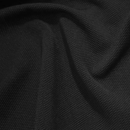 Трикотаж кукуруза черный, фото 2
