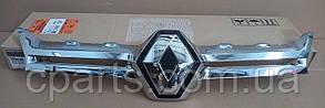 Накладка решетки хром Renault Duster 2015-2017 (оригинал)