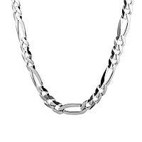 Серебряная цепочка ФИГАРО 3+1,КАРТЬЕ (7-9 грамм), фото 1