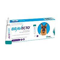 Каплі на холку Бравекто Спот-Он для собак 20-40 кг.