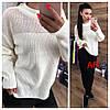 Женский ангоровый свитер свободного силуэта в расцветках. АР-23-1018, фото 2