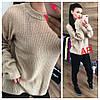 Женский ангоровый свитер свободного силуэта в расцветках. АР-23-1018, фото 3