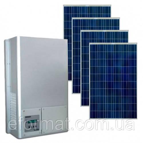Комплект солнечной электростанции Omron + Abi-Solar 10 кВт