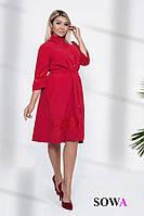 Платье женское батал   Адэль, фото 1