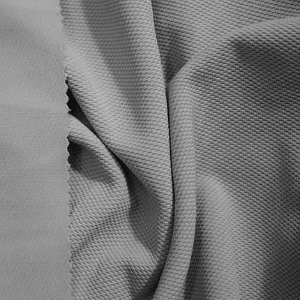 Трикотаж кукурудза сірий, фото 2