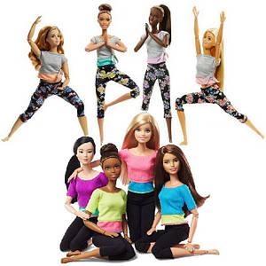 Барбі Рухайся як Я - Barbie Made to Move