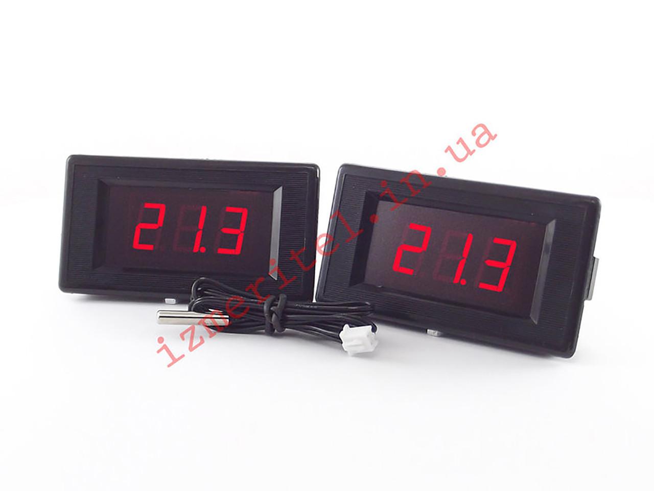 Беспроводной цифровой термометр с двумя дисплеями