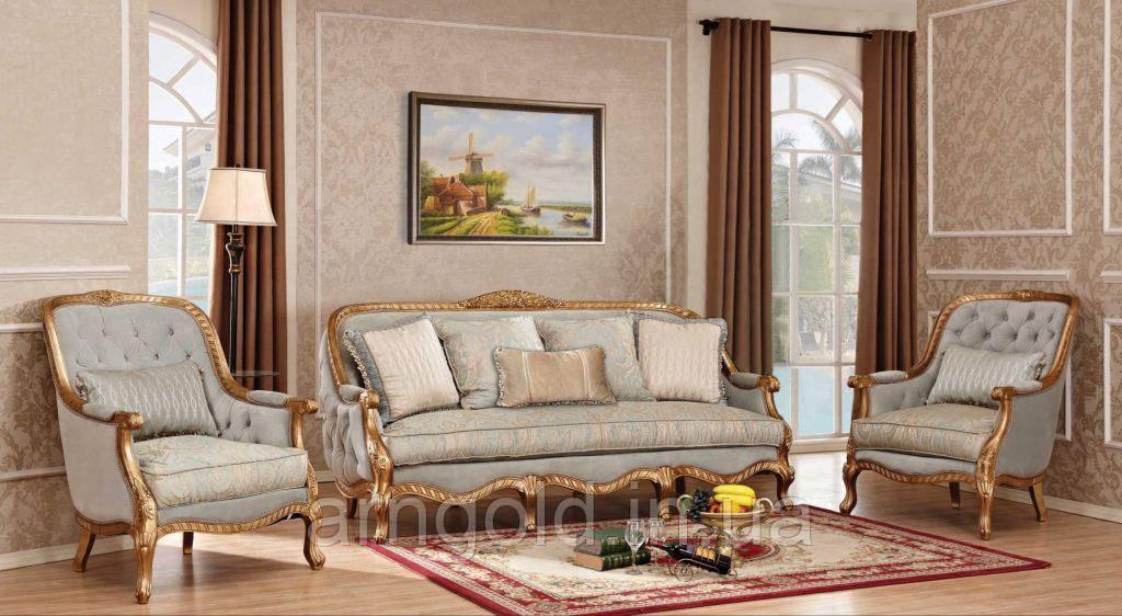Мягкая мебель Сильва комплект 3+1+1