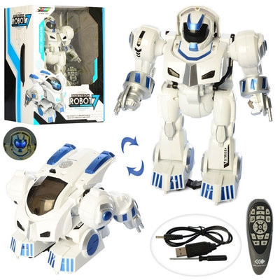 Робот К4 на р/у, USB зарядное, 28см