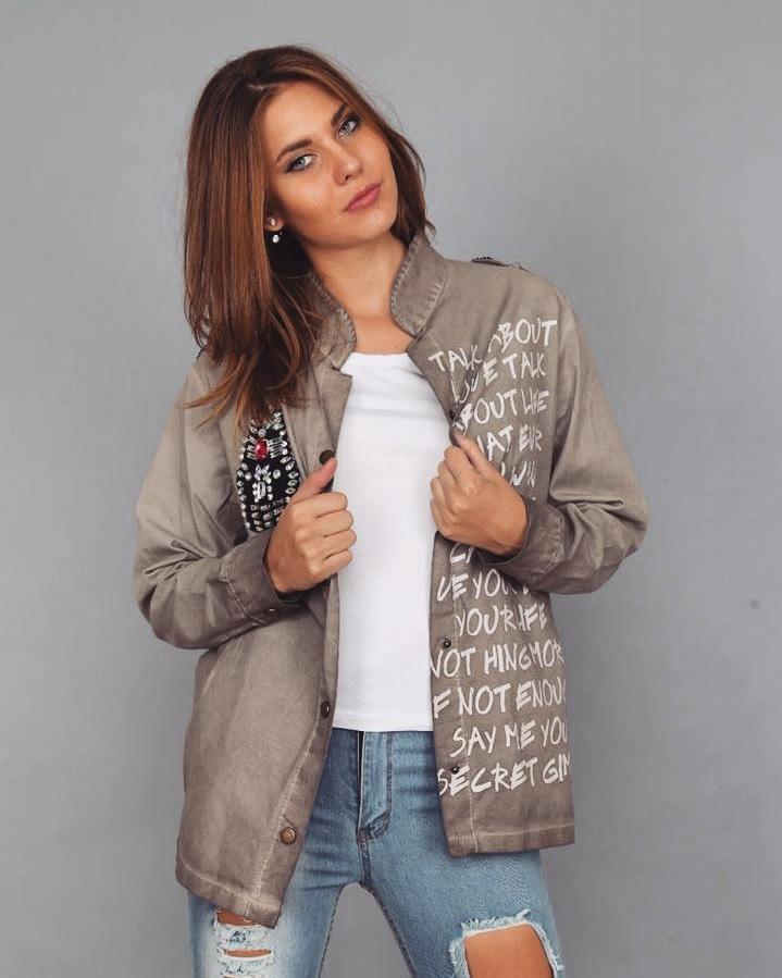 Пиджак ткань плотный джинс /коттон. Размер единый С,М,Л,ХЛ. Разные цвета (5151)