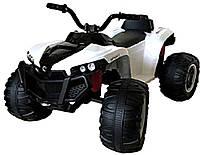 Детский электромобиль-квадроцикл T-738 WHITE для деток 3-8 лет мотор 2*15W аккумулятор 6V7AH