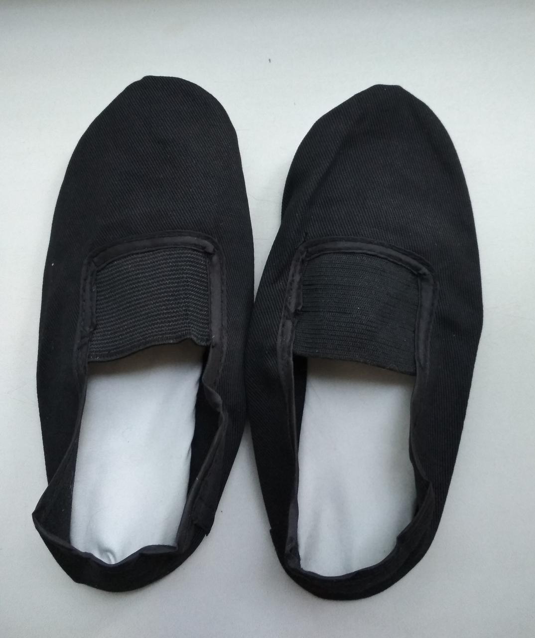 Черные чешки для танцев
