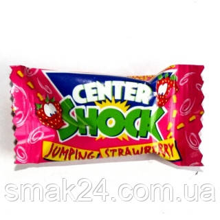 Жевательная резинка  Chupa Chups Center Shock strawberry (кислая клубника) 4г