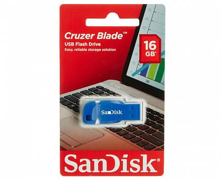 Флешка USB SanDisk Cruzer Blade [SDCZ50C-016G-B35BE], фото 2