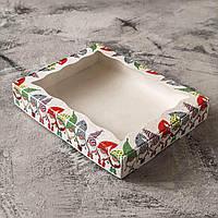 Коробка подарочная 15см х 20см х 3см, Гномы